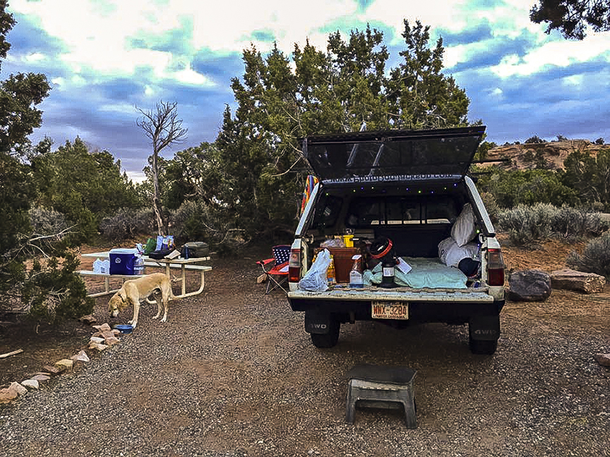 Our Colorado National Monument Camp.